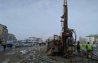 Elazığ'da inşa edilecek konutlar için zemin etüt çalışmaları başladı