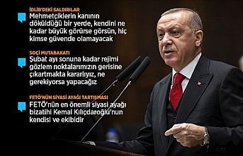 Erdoğan: Askerlerimize en küçük zarar gelmesi...