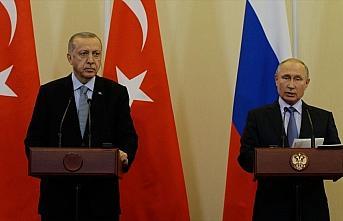 Erdoğan ve Putin İdlib'deki durumu telefonda görüştü