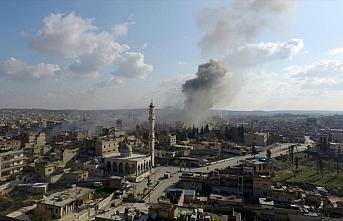 Esed rejimi, İdlib Gerginliği Azaltma Bölgesi'nde...