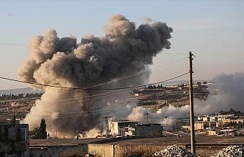 Esed rejimi ve Rusya'dan İdlib'deki sivil yerleşimlere...
