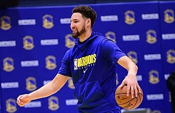 Golden State Warriors'ta Klay Thompson eylül ayında...