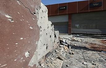 Hafter milisleri Trablus'ta bir mahalleyi vurdu