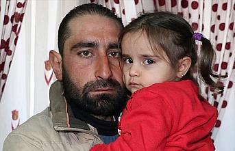 Hamile eşi ve oğlu öldürülen baba kızıyla teselli...