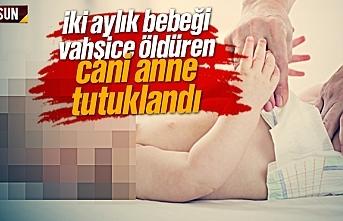 İki aylık bebeğini öldüren cani anne Atakum'da...