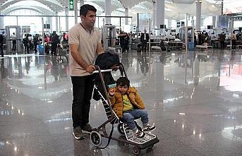 İstanbul Havalimanı'nda ücretsiz bebek arabası...