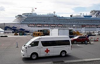 Japonya'da karantina altındaki gemide 40 kişide...