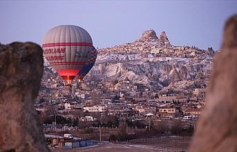 Kapadokya'yı 2020'nin ilk ayında 159 bin turist...
