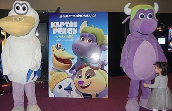 'Kaptan Pengu ve Arkadaşları: Mandalina'nın Günlüğü' filminin ön gösterimi yapıldı