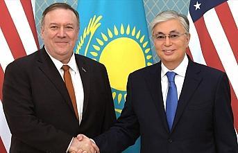 Kazakistan Cumhurbaşkanı Tokayev, ABD Dışişleri...