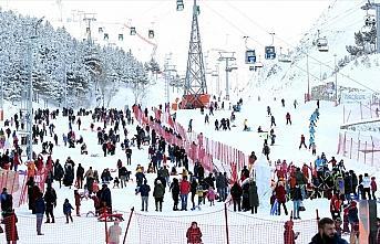 'Kış turizminin gözdesi' Erzurum 1 milyonluk hedefi...