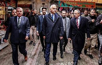 Kültür ve Turizm Bakanı Ersoy Hatay'da ziyaretlerde...