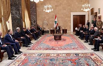 Lübnan Cumhurbaşkanı, İranlı yetkililerle bölgesel...