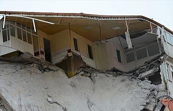 Malatya'da evi hasar gören veya yıkılanlara nakdi...