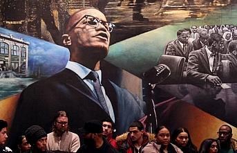 Malcolm X vefatının 55. yılında New York'ta anıldı