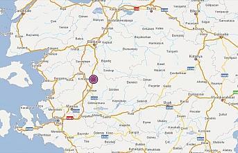 Manisa'da 4,4 büyüklüğünde deprem