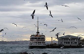Marmara Bölgesi'nde havanın parçalı ve çok bulutlu...