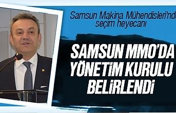 MMO Samsun Şubesi yönetim kurulu belli oldu
