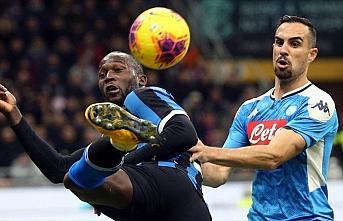Napoli, kupada Inter'den avantajlı skorla döndü