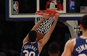 NBA'de 76ers Furkan Korkmaz'ın 31 sayı attığı...
