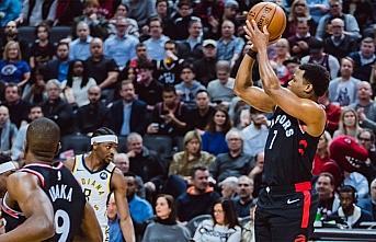 NBA'de Raptors, tarihinde ilk kez üst üste 12 maç...