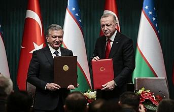 Özbekistan Cumhurbaşkanı Mirziyoyev: Türkiye ve...