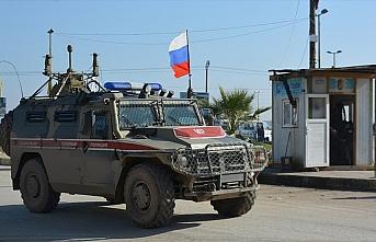 Rusya, Suriye'nin kuzeydoğusundaki Tel Temır bölgesinde...