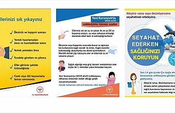 Sağlık Bakanlığı koronavirüsten korunma broşürü...
