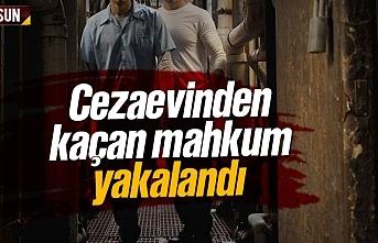 Samsun'da cezaevinden kaçan mahkum yakalandı
