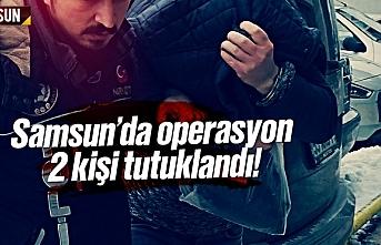 Samsun İlkadım ve Atakum'da uyuşturucu operasyonu