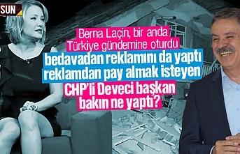 Samsun'da istenmeyen Berna Laçin'e CHP'li Cemil Deveci sahip çıktı