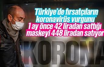 Steril maskede fırsatçılar iş başında, maskelere yüzde 1000 zam