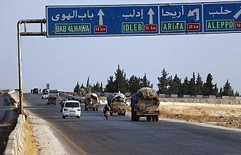 Suriye'deki stratejik M5 kara yolu üzerinde mücadele...