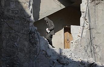 Suriye'nin kuzeyindeki Bab ilçesine hava saldırısı:...