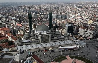 Taksim Camisi yıl sonunda tamamlanacak