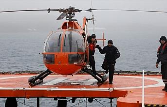 Türk bilim insanları Antarktika'ya ulaştı