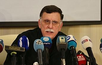 UMH Başbakanı Serrac: Silah ambargosu hava, kara ve deniz yoluyla yapılmalı