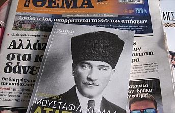 Yunan gazetesi Atatürk'ün hayatını anlatan kitap...