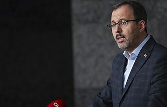 Bakan Kasapoğlu, federasyon başkanları ile toplantısı...