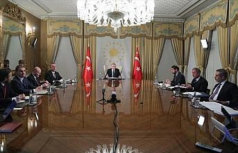 Cumhurbaşkanı Erdoğan, Macron, Merkel ve Johnson'la...