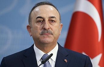 Dışişleri Bakanı Çavuşoğlu: Bayrağımıza...