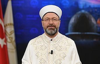 Diyanet İşleri Başkanı Erbaş'tan Miraç Gecesi...