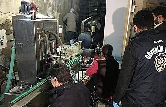 Güvenlik güçleri sahte dezenfektan ve maske üreticilerine...