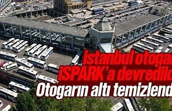 İstanbul otogarı İSPARK'a devredildi, otogarda...