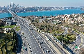 İstanbul'da trafik yoğunluğu azaldı
