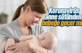 Koronavirüs anne sütünden bebeğe geçer mi?