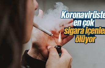 Koronavirüsten en çok sigara içenler ölüyor