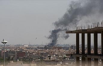 Libya'da Hafter milisleri Trablus'un güneyindeki...