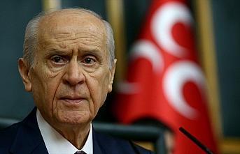 MHP Genel Başkanı Bahçeli 'Milli Dayanışma Kampanyası'na...
