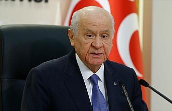MHP Genel Başkanı Bahçeli: Virüs eninde sonunda...